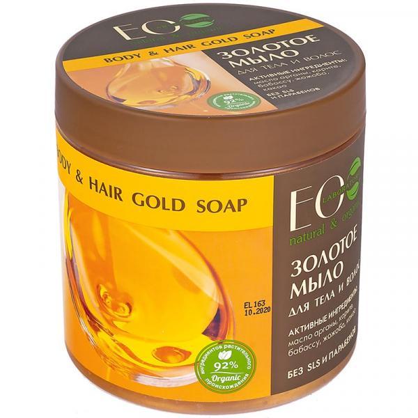 EOlab mydło do ciała i włosów 450ml Złote