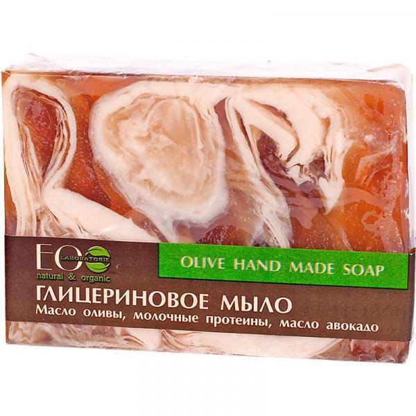 EOlab glicerynowe mydło w kostce 130g Oliwkowe