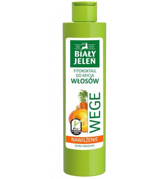Biały Jeleń szampon do włosów WEGE 250ml marchew i dynia
