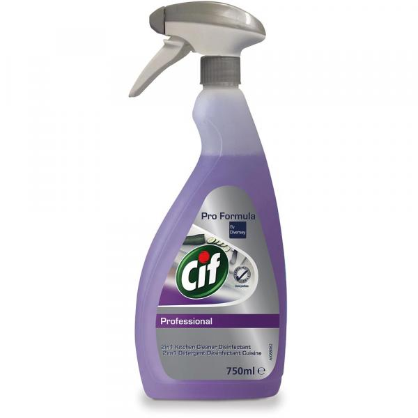 Cif Professional 2w1 Cleaner Disinfectant 750ml