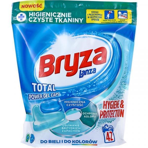 Bryza kapsułki do prania 42 sztuki Hygiene & Protection