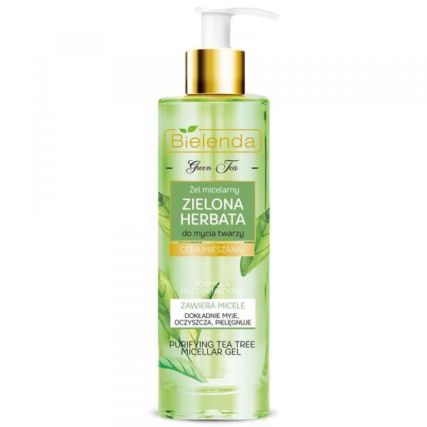 Bielenda Zielona Herbata żel micelarny do mycia twarzy 200ml