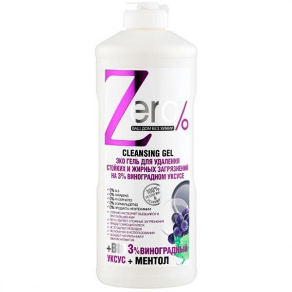 Naturalny żel czyszczący ZERO do zabrudzeń trwałych i z tłuszczu 500 ml