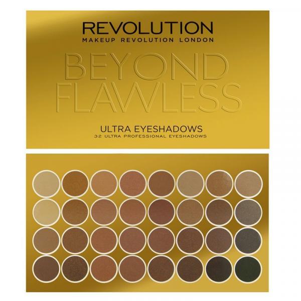 Revolution zestaw 32 cieni do powiek Beyond Flawless