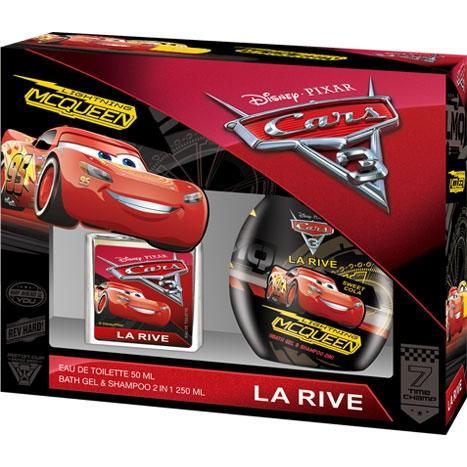 La Rive Zestaw kosmetyków dla chłopców Cars