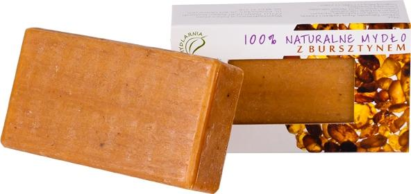 Naturalne mydło 100g z bursztynem hipoalergiczne