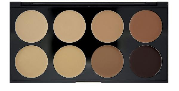 Revolution paleta korektorów Medium-Dark 8szt Cover & Conceal