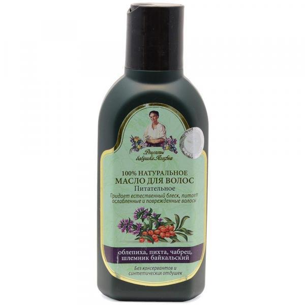 Babuszka Agafia olejek do włosów Odżywczy 150ml