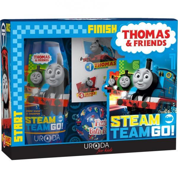Bi-es zestaw Thomas & Friends żel pod prysznic + musująca kulka