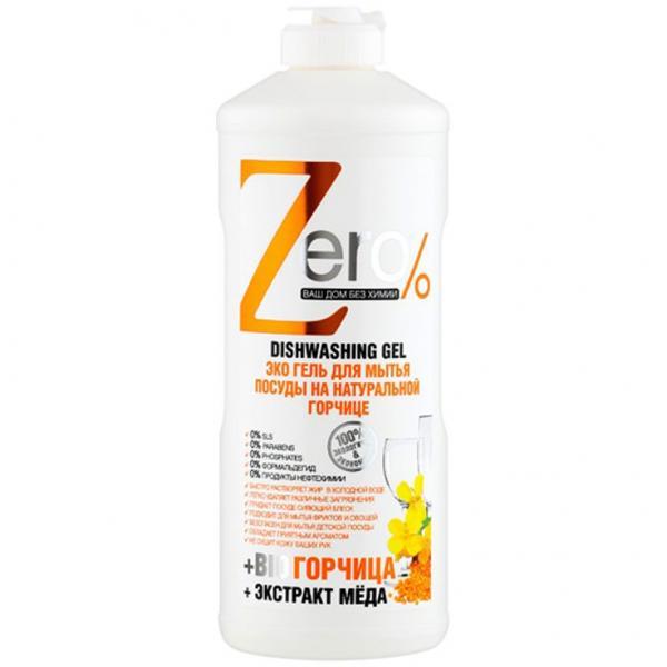 Naturalny płyn do mycia naczyń z gorczycą ZERO 500 ml