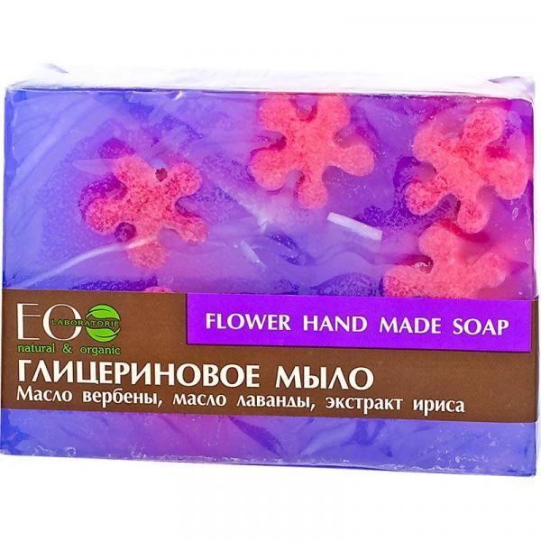 EOlab glicerynowe mydło w kostce 130g Kwiatowe