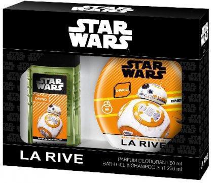 Star Wars Droid zestaw dezodorant perfumowany + szampon i żel pod prysznic