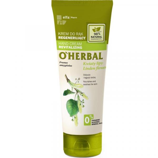 O Herbal krem do rąk regenerujący 75ml Kwiat Lipy