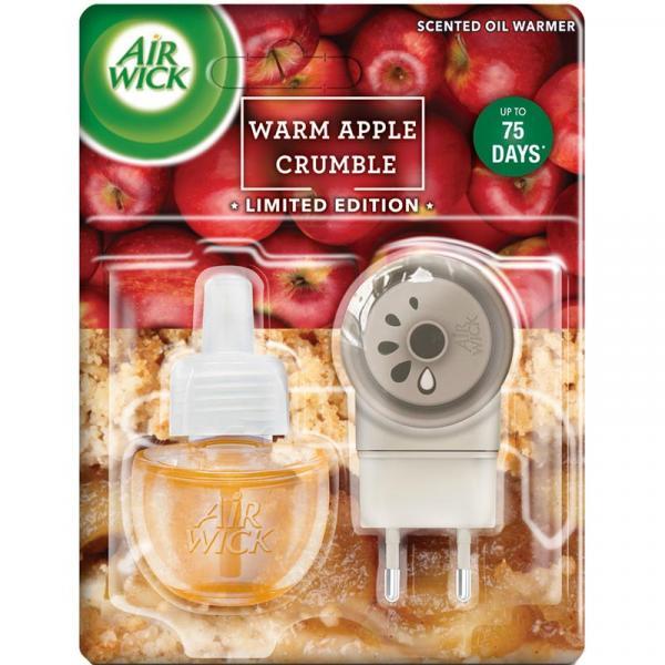 Air Wick elektryczny odświeżacz powietrza Pieczone Jabłko z cynamonem