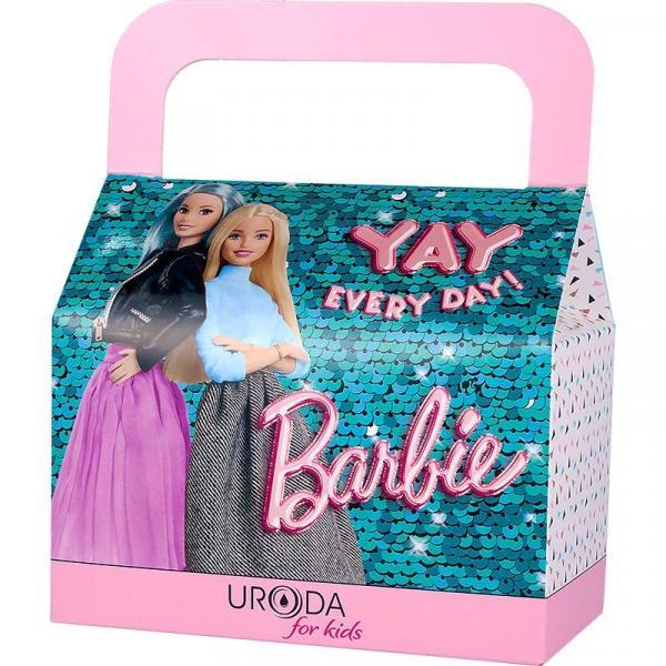 Uroda zestaw-kuferek Barbie Fashionistas (edp+żel+pomadka)